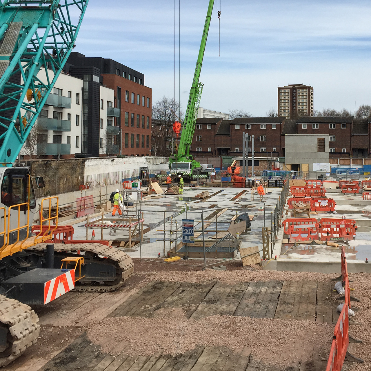 Flatley Construction Groundworks Image