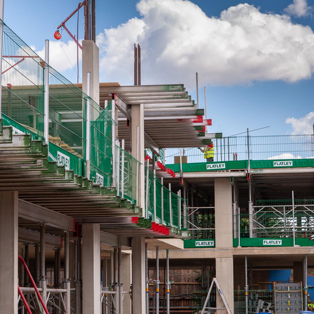 Flatley Construction Concrete Frames image